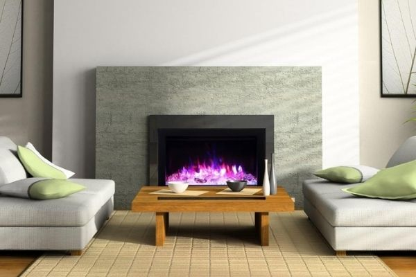 Amantii Traditional Built-in Electric Fireplace Insert