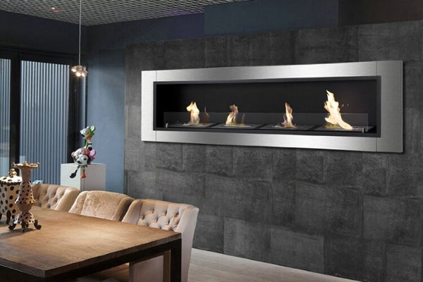 Recessed Ethanol Fireplace fireplace by Ignis