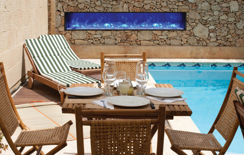 50 modern outdoor fireplaces modern blaze
