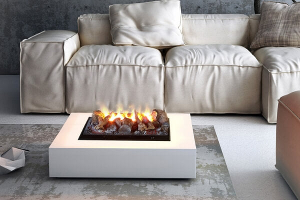 Custom Tabletop Water Vapor Fireplace