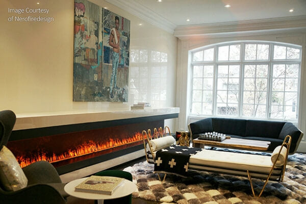 Dimplex Opti-mys Ribbon Fireplace