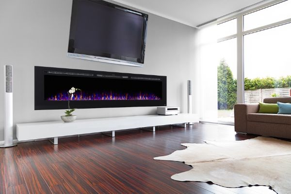 Touchstone Sideline Electric Fireplace