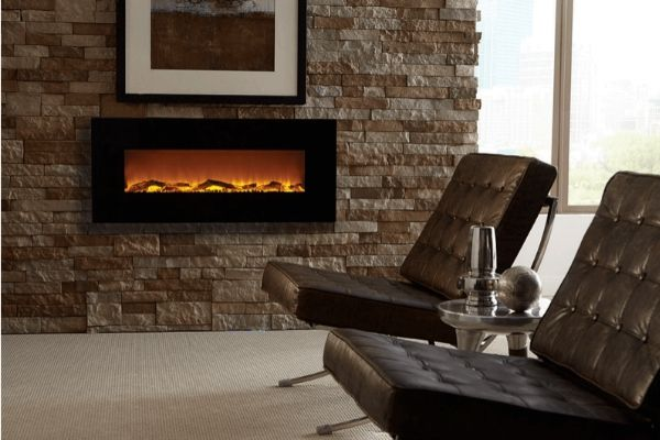 Toucsthone Onyx Wall Mounted electric fireplace