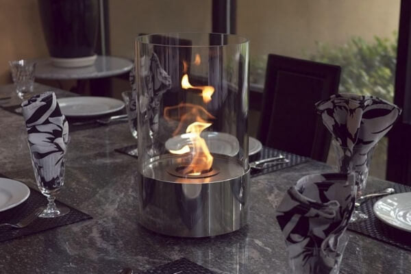 "Nu-Flame Accenda - 9"" Table Top Ethanol Fireplace (NF-T1ACA)"