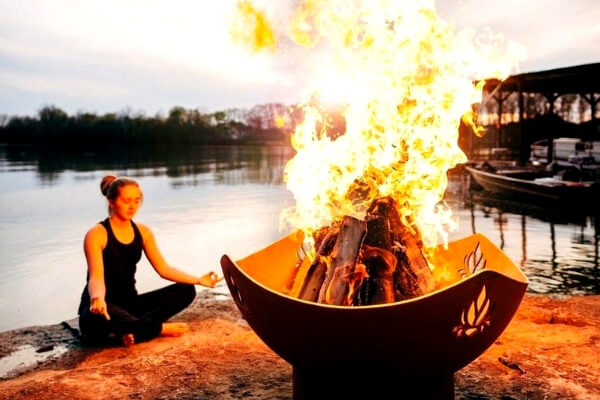 Yoga inspifre fire pit