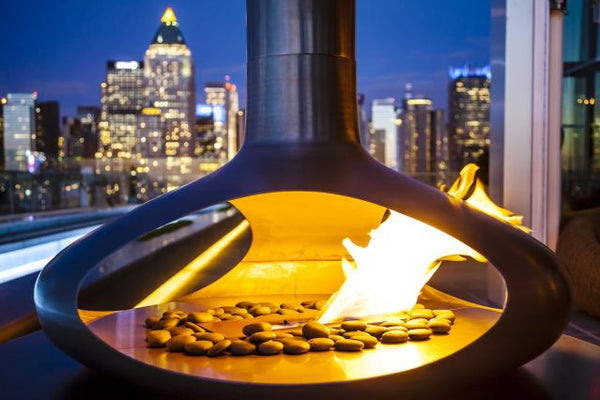 Ride out winter at these bars with fireplaces