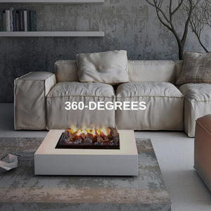 360-Degree Fireplaces