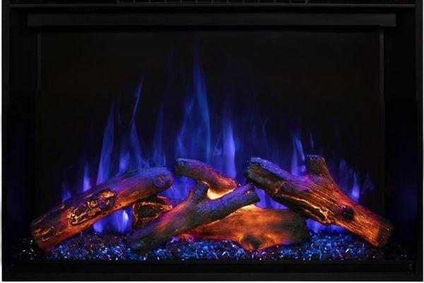 """Modern Flames Redstone 36"""" Built-in Electric Fireplace Insert"""