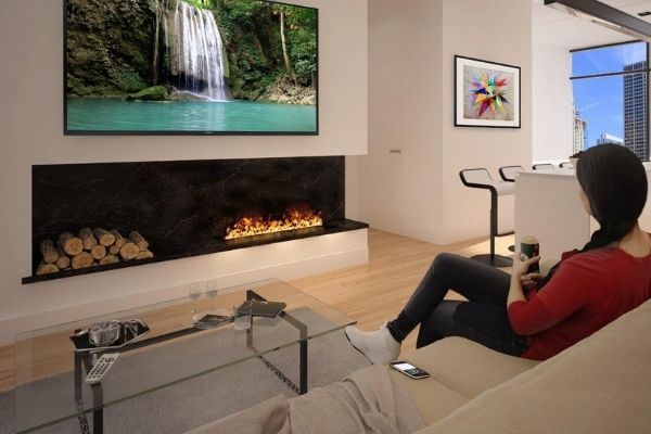 easy to install fireplace