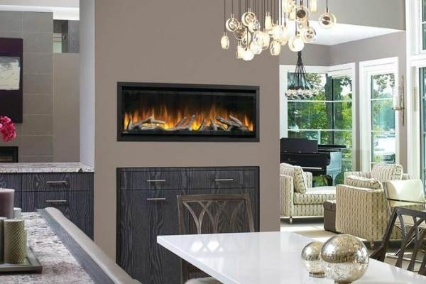 Napoleon Alluravision Deep Built-in /Wall Mounted Electric Fireplace