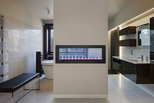 Napoleon Clearion See-Through Electric Fireplaces