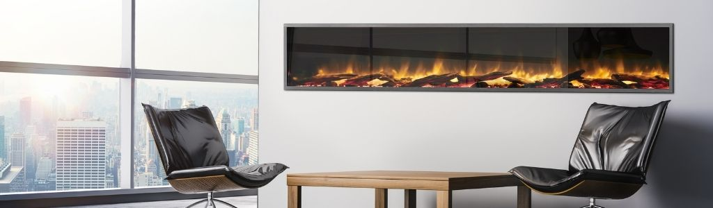 Linear Electric Fireplaces