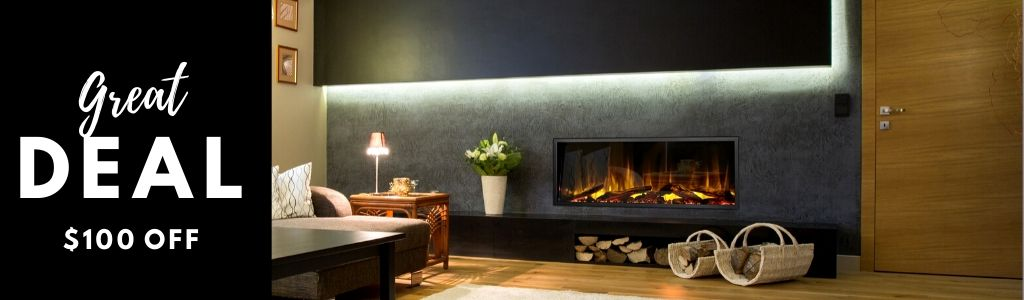 Dynasty Built-in Electric Fireplaces - Great Deal