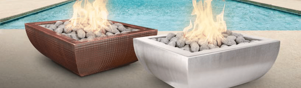 Top Fires Avalon Fire & Water Bowls