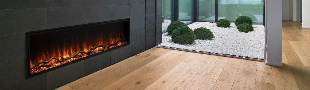 "Electric Fireplaces Sale - 10% OFF with Code ""ELECTRIC"""