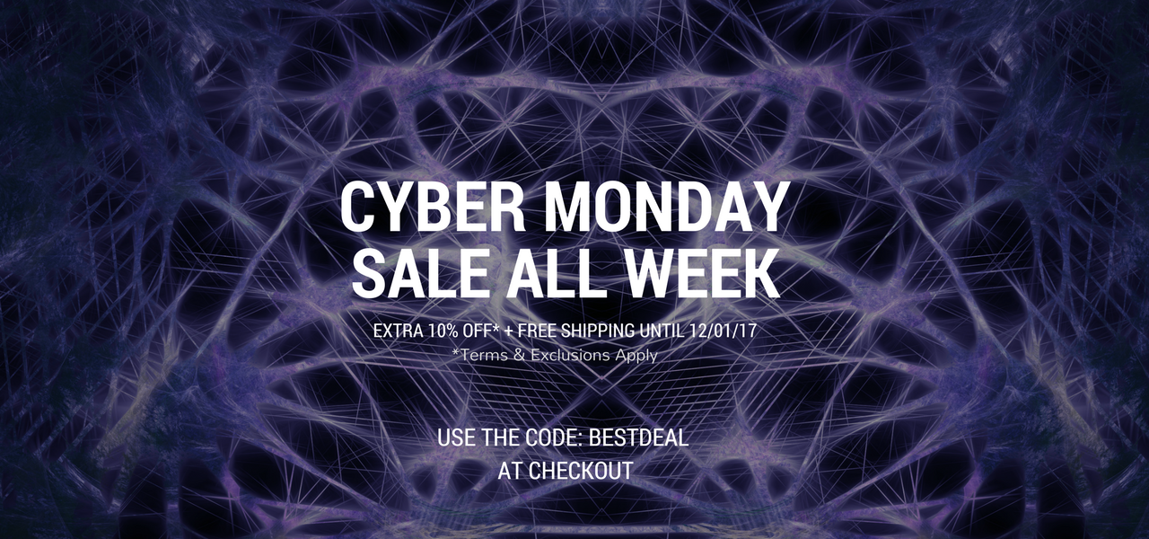 Cyber Monday Sale All Week!