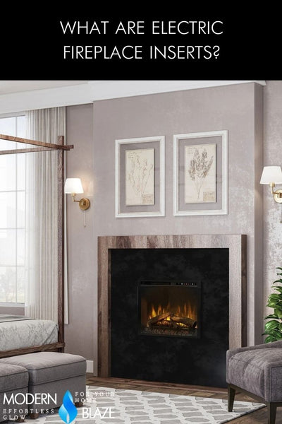 What Are Electric Fireplace Inserts?