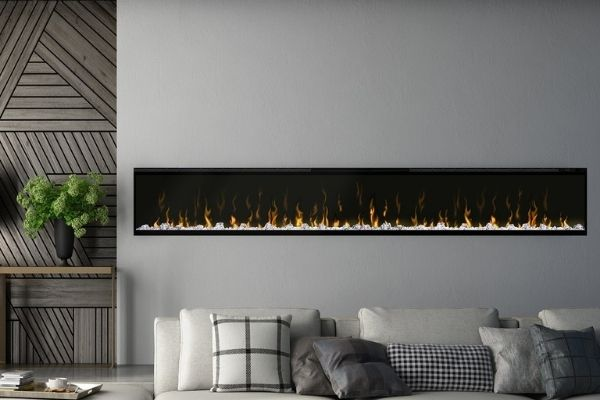 """Dimplex IgniteXL 100"""" Built-in Hardwired Electric Fireplace"""