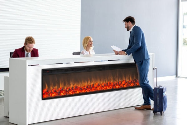 Toucstone Emblazon Commercial Electric Fireplace