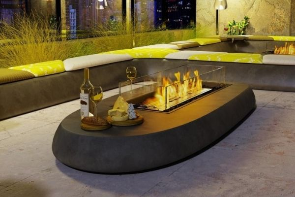 EcoSmart Fire Linear 50 Indoor/Outdoor Fire Pit Kit