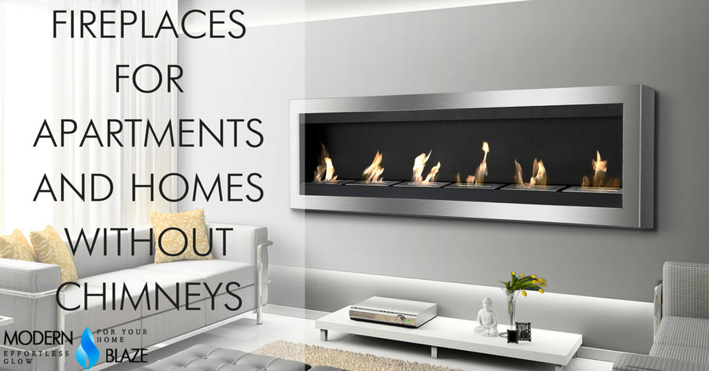Fireplaces For Apartments And Homes Without Chimneys