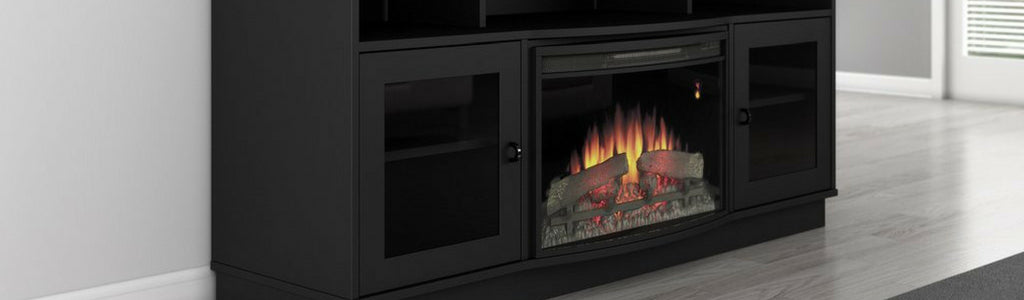 Furnitech | TV Stands with Fireplaces