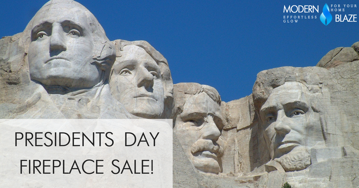presidents day fireplace sale