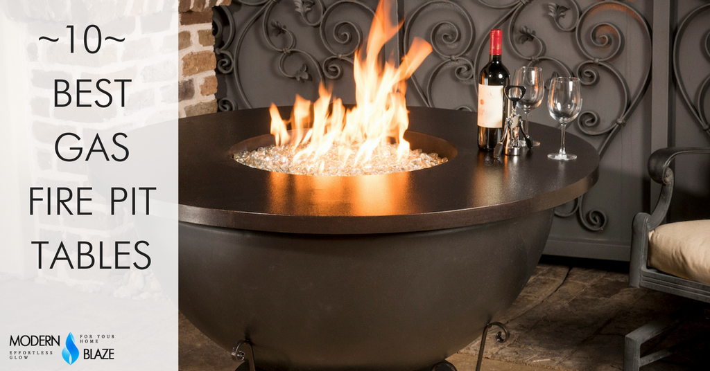 10 Best Gas Fire Pit Tables for your Backyard