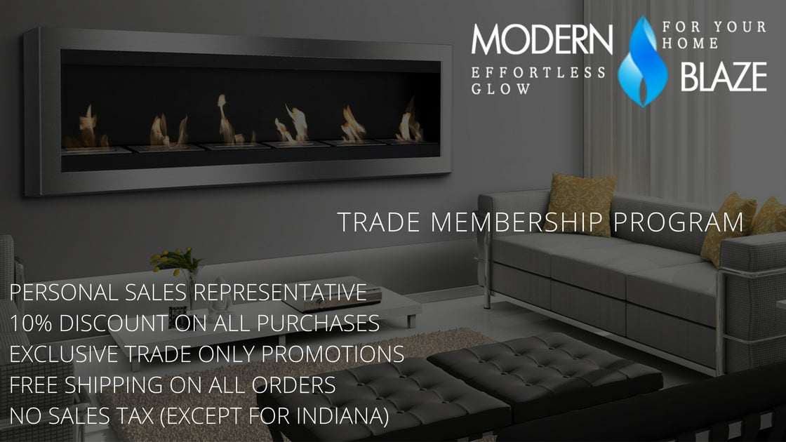 modern blaze offers exclusive pricing and services to trade professionals including interior designers architects home developers contractors - Interior Design Membership