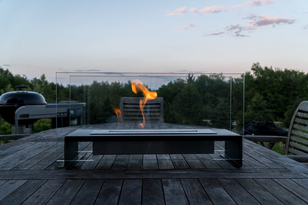 Modern Outdoor Freestanding Fireplace