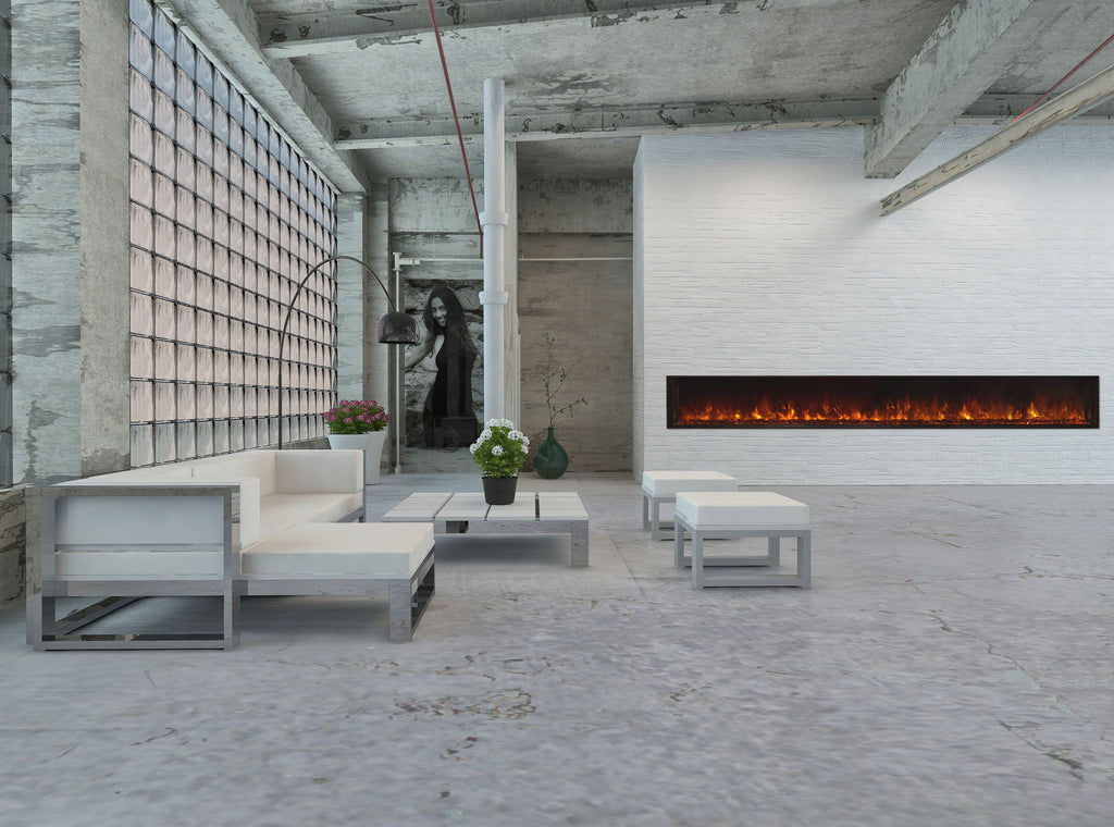 "Modern Flames 120"" Landscape Series Electric Fireplace"