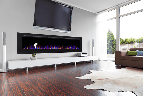 Best Recessed Electric Fireplace with a Frame