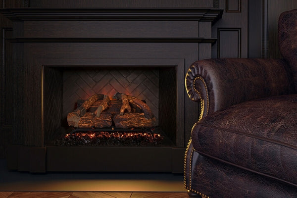 Modern Flames Sunset Charred Oak Fireplace Insert