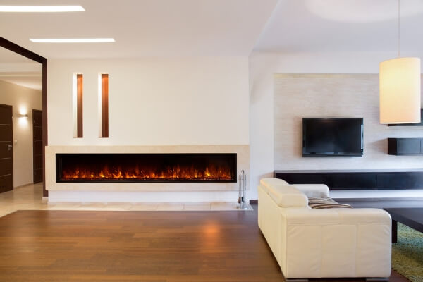 Landscape-2 built-in electric fireplace by Modern Flames
