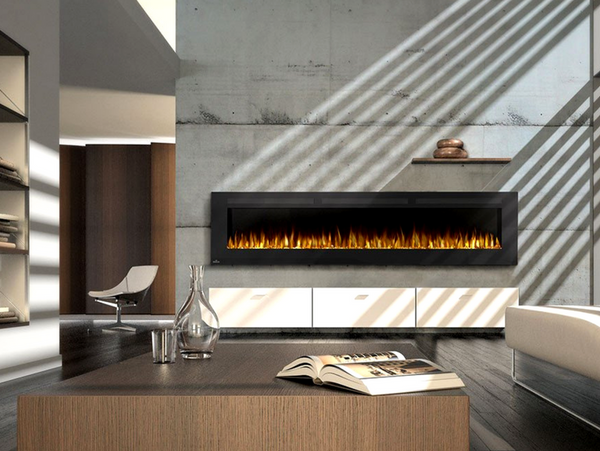 20 modern fireplaces that you can install yourself modern blaze 100 modern linear electric fireplace solutioingenieria Images