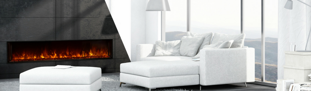 Modern Built-in Electric Fireplaces