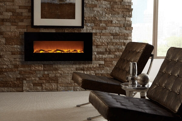 Onyx fireplace by Touchstone