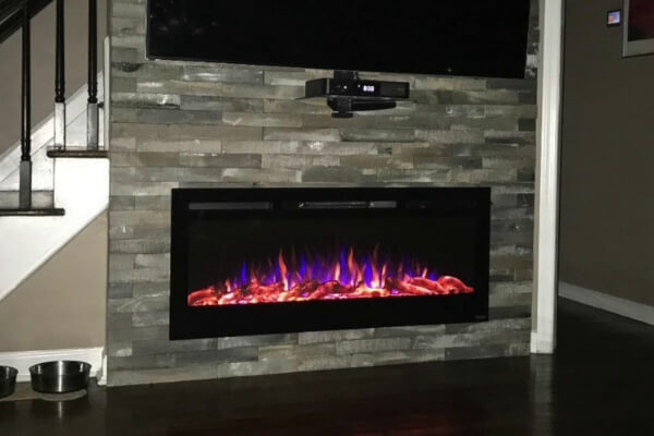 The Sideline fireplace by Touchstone