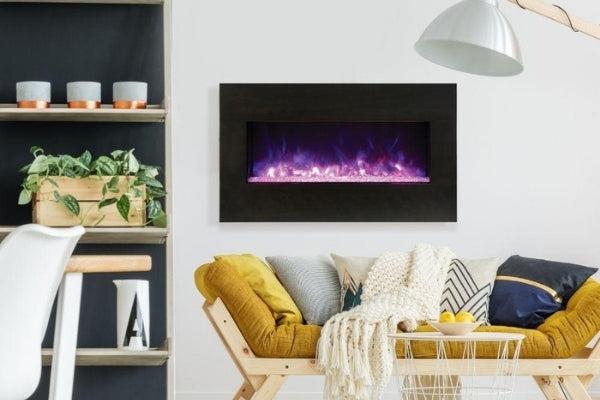 Amantii Panorama XS 40″ Built-in Indoor/Outdoor Electric Fireplace