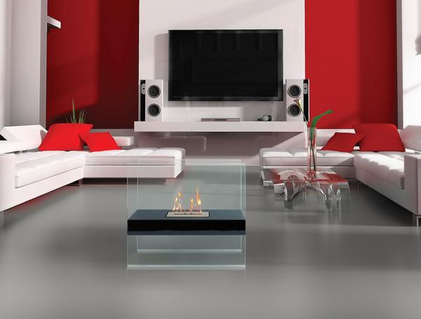 Anywhere Fireplace Madison - Ventless Free Standing Ethanol Fireplace