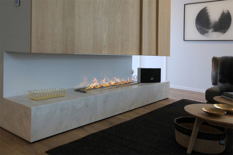"Bio Flame Fireplace Featured in Reality Show ""The Block"""