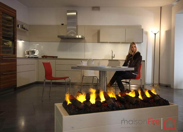 5 Most Realistic Electric Fireplaces New Water Vapor