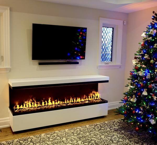 Sarah Check Hearth Cabinet: 5 Most Realistic Electric Fireplaces: New Water Vapor