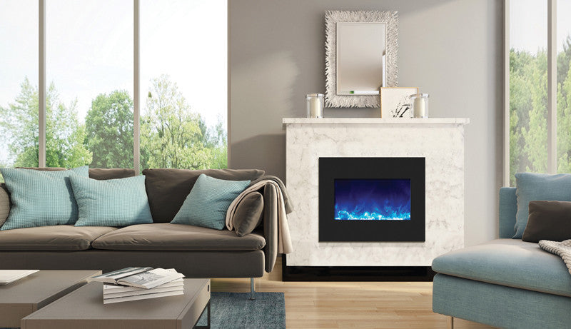 "Amantii 29"" Built-in Zero Clearance Electric Fireplace (ZECL‐26‐2923-BG)"