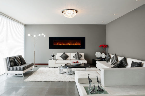 Living Room Electric Fireplace - Best Home Interior •