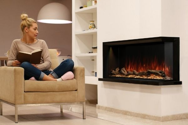 5 Types Of Fireplaces For Apartments Homes Without Chimneys Modern Blaze