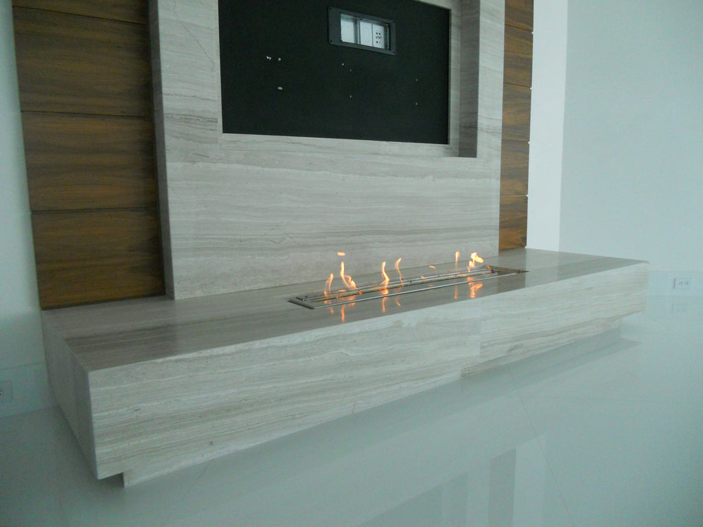 how to build an ethanol fire box