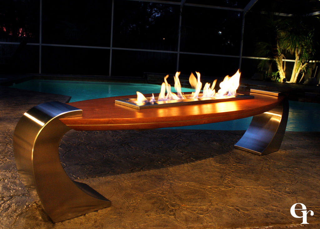 How to build your own bio ethanol fireplace using ethanol for Ethanol outdoor fire pit