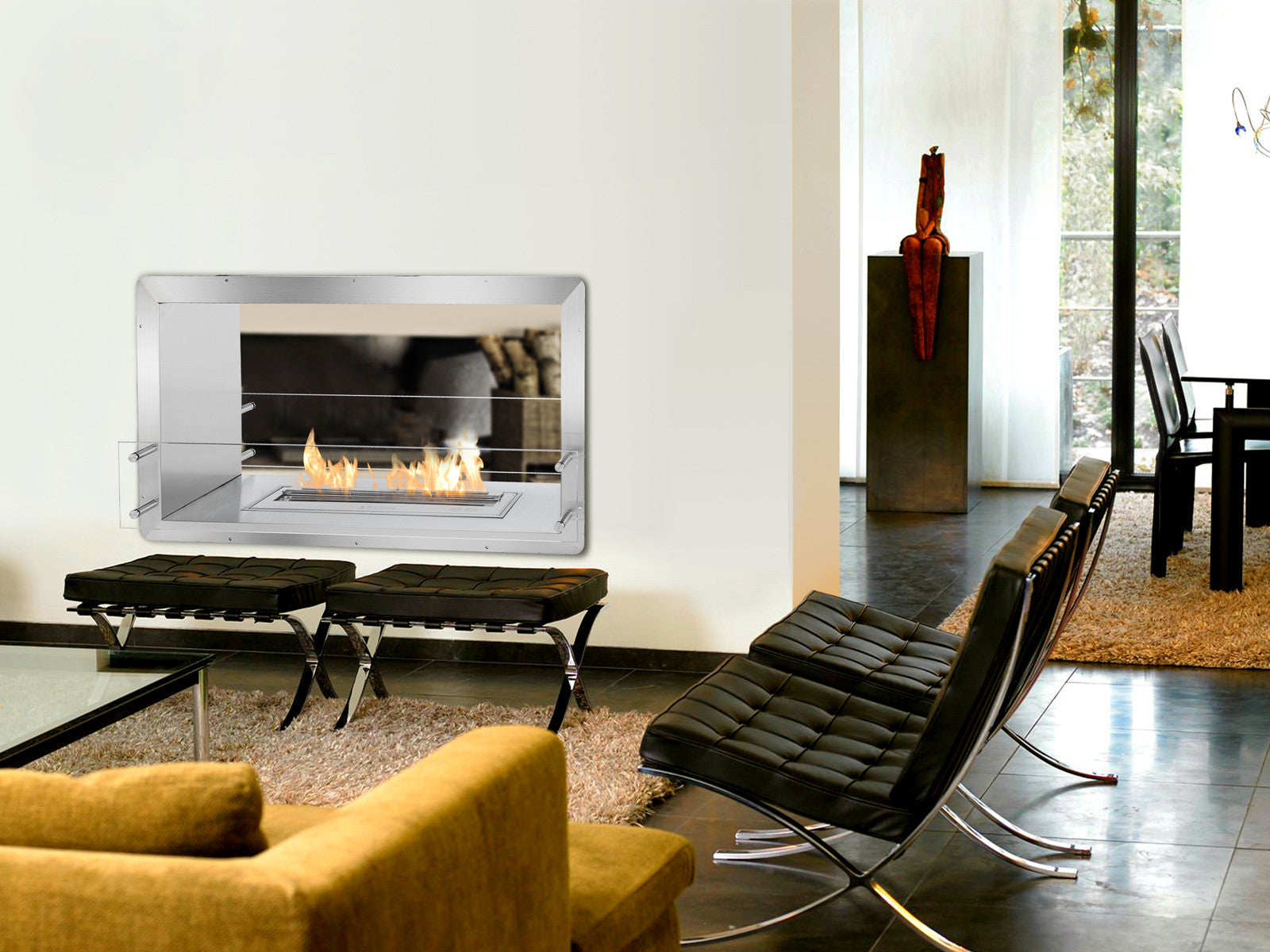 Modern Fireplaces: 5 Smart Placement Ideas - Modern Blaze