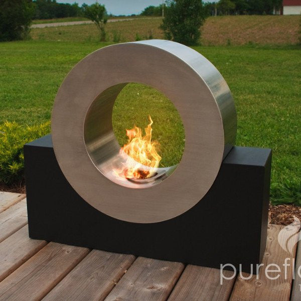 Pureflame Ring of Fire - Free Standing Ethanol Fireplace (RIN001)